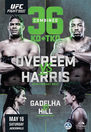 دانلود رویداد :  UFC on ESPN 8-Alistair Overeem vs. Walt Harris